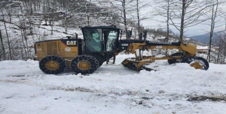 Trabzon Büyükşehir Belediyesi kar mücadelesine hazır