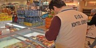 18 gıda işletmesine 297 bin lira ceza uygulandı