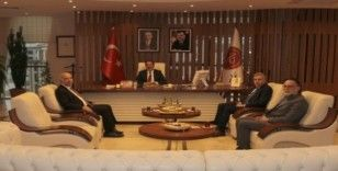 Niğde Ömer Halisdemir Üniversitesi Rektörü Kar'dan Rektör Bağlı'ya ziyaret