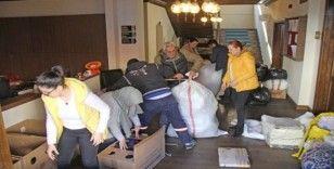 Finikeliler deprem için yardıma koştu
