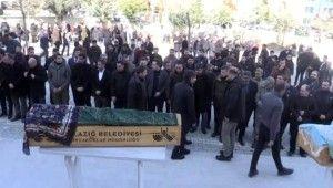Hayatını kaybeden Sevim Canbaz ve Sena Karaman son yolcuğuna uğurlandı