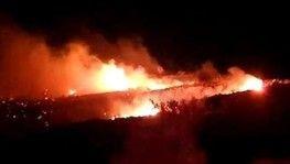 Cezayir'de askeri uçak düştü 2 ölü