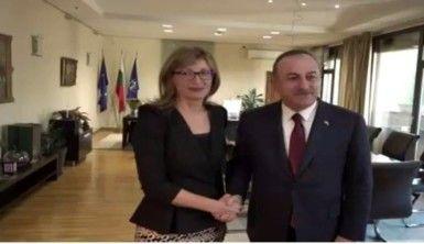 Bakan Çavuşoğlu, Bulgar mevkidaşı Zaharieva ile görüştü