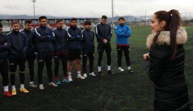 Bolu'da, 3 çocuk annesi iş kadını, futbol kulübüne başkan oldu