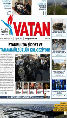 Güzel Vatan Gazetesi Sayı:125