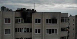 Ataşehir'de 14 katlı binada yangın paniği