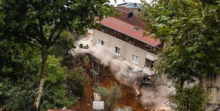 Arda Turan'ın otel inşaatı nedeniyle mağdur olan vatandaşlar hasar gören evlerde yaşıyor
