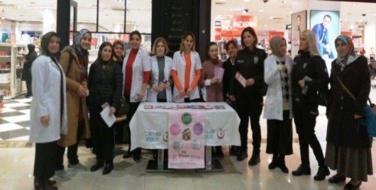 'Dünya Kanser Günü'nde vatandaşları bilgilendirdiler