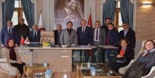 CHP Gölpazarı İlçe Başkanlığından Başkan Şahin'e ziyaret