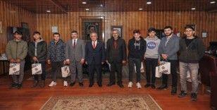 Atatürk çocuk evleri sakinlerinden üniversiteye ilk adım