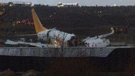 OGÜNhaber kamerasından düşen uçağın görüntüleri