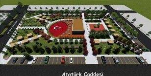 Osmancık'ta eski hükümet konağı alanı park olacak