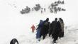 İçişleri Bakanlığı: 'Şu ana kadar 30 kişiye ulaşıldı, çığ altındakileri arama kurtarma çalışmaları devam ediyor'