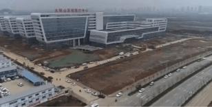 Çin'de korona virüsü hastaları için inşa edilen 2. hastane bitmek üzere