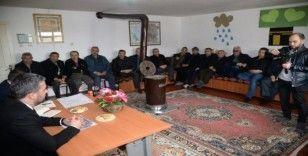 Başkan Çetin 'Mahalle Buluşmaları'na katılmaya devam ediyor