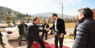 Yeni Malatyaspor'a MKE Ankaragücü maçı öncesi moral ziyareti
