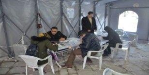 AFAD'ın müracaat çadırına 15 bin başvuru yapıldı