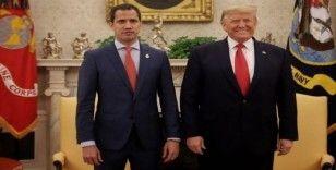 Trump, Venezuela muhalefet lideri Guaido ile görüştü