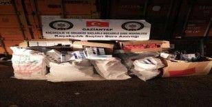 17 bin 230 paket kaçak sigara ele geçirildi