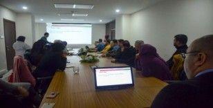 Bilecik'te koronavirüsü bilgilendirme eğitimi ve değerlendirme toplantısı