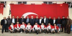 Ergeneli Mehmetçiler dualarla uğurlandı