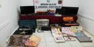 Çaldıkları eşyaları internet üzerinden satan 4 şüpheli yakalandı