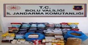 Bolu'da jandarmadan kaçak sigara operasyonu: 1 göazaltı