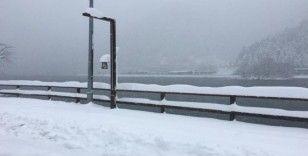 Uzungöl'den kar manzaraları