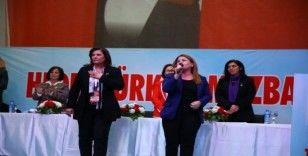 CHP Aydın'da 'Hedef Türkiye Mazbatası' sloganı ile kongreye gitti