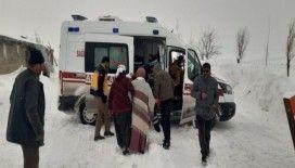 Özalp ilçesinde hasta kurtarma operasyonu