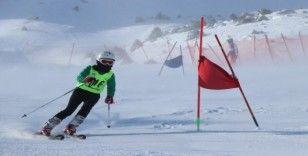 Ergan Dağı'nda sporcuların şampiyonluk mücadelesi