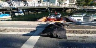 Marmaris'te kimliği belirsiz erkek cesedi bulundu