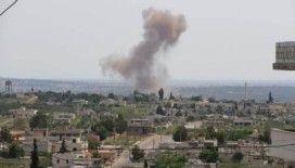 Esad rejimi Halep'i bombaladı: 2 ölü