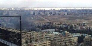 Şam'da bomba yüklü araç patladı: 1 yaralı