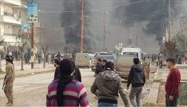 Afrin'deki patlamada 8 sivil hayatını kaybetti