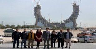 Türk doğal taş sektörü Katar'dan ihracat bağlantılarıyla döndü