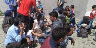 Ayvalık'ta 56 mülteci jandarma ekiplerince yakalandı