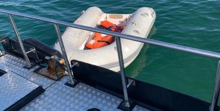 Marmara'da Denizinde tekne battı, iki kişi ölümden döndü