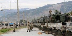 İskenderun Tren Garı'ndan Suriye sınırına ZBT sevkiyatı