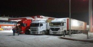 Tokat-Sivas karayolu ağır tonajlı araç geçişlerine kapatıldı