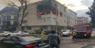 Bakırköy'de yangın paniği