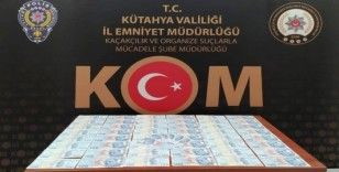 Kütahya'da piyasaya sahte banknot süren 2 şüpheli yakalandı