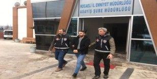 Vatandaşın cep telefonunu gasp eden şahıs tutuklandı