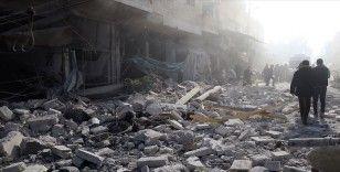 Rejim ve Rus uçakları Halep'te sivilleri vurdu: 4 ölü