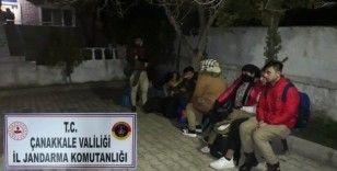 Çanakkale'de 80 düzensiz göçmen yakalandı