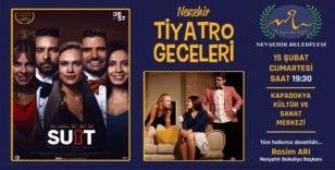 """""""Suit"""" iddialı oyuncu kadrosuyla Nevşehir'de sahnelenecek"""