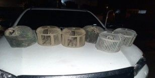 Kınalı keklik avlayanlara 12 bin TL para cezası
