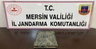 Mersin'de tarihi eser operasyonu