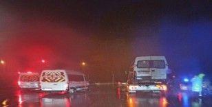 Kocaeli'de korsan taşımacılık yapan 4 araç trafikten men edildi