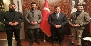 Başkanlardan Kaymakam Mehmetbeyoğlu'na ziyaret